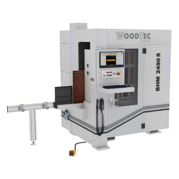Автоматический сверлильно-присадочный станок с ЧПУ WoodTec BHM 2490 R